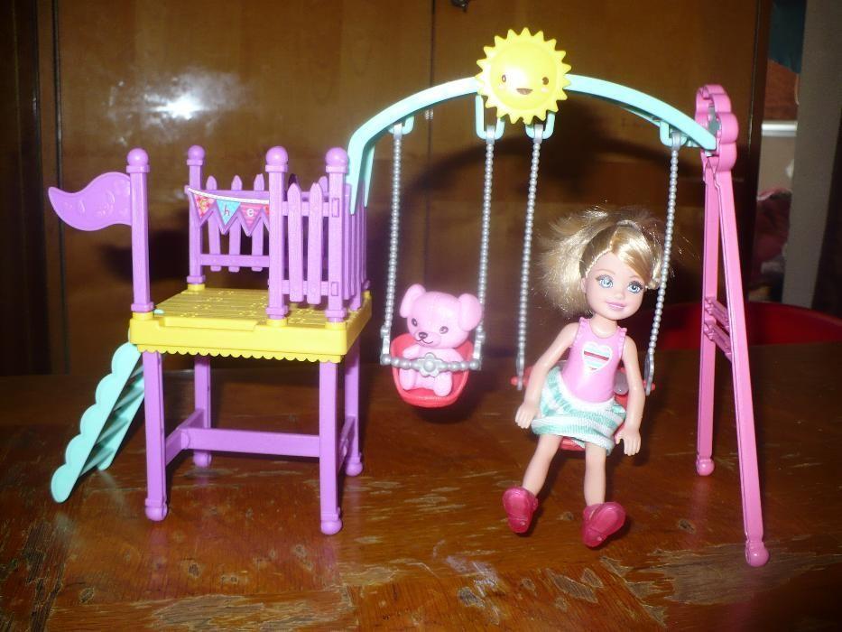 Set Barbie, Chelesea la locul de joaca, Mattel