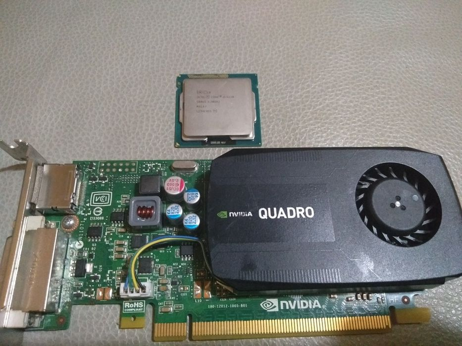 Placa gráfica e processador