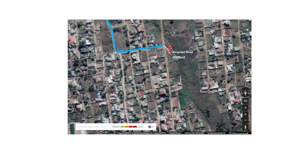 Venda do terreno em Kampuane com 2000m2