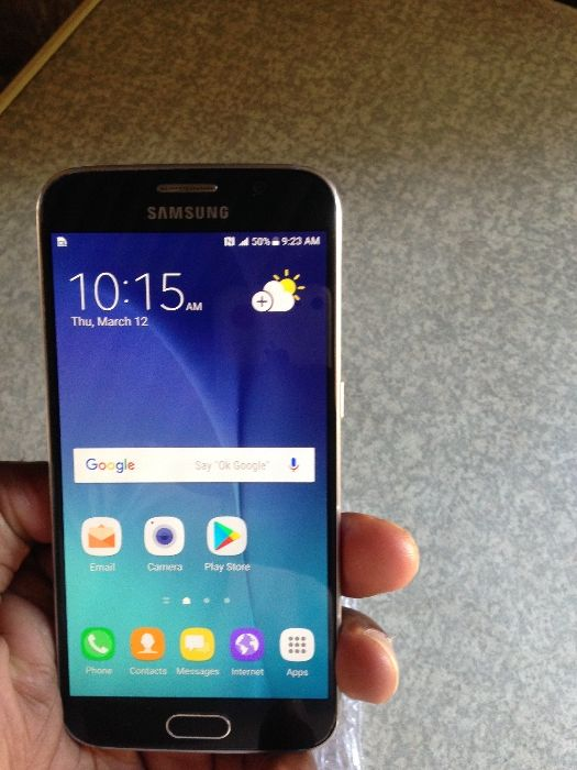 Galaxy S6 normal novo fora da caixa com 32 gb