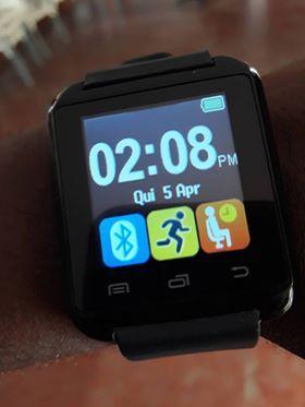 Vendo o meu relógio bluetooth que recebe chamada e mensagem