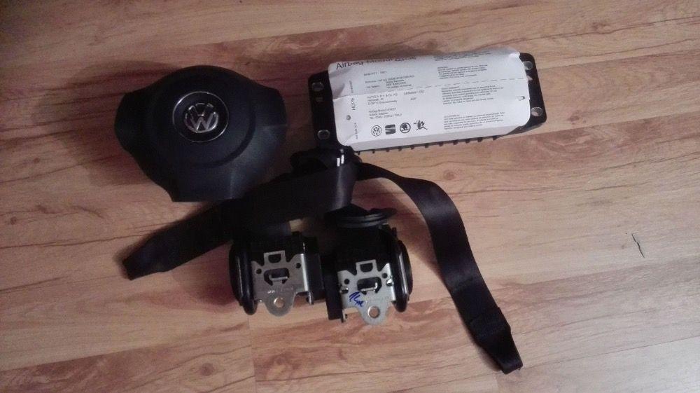 KIT Airbag Vw Scirocco / Golf 6 Airbag Volan + Pasager + Centuri Fata