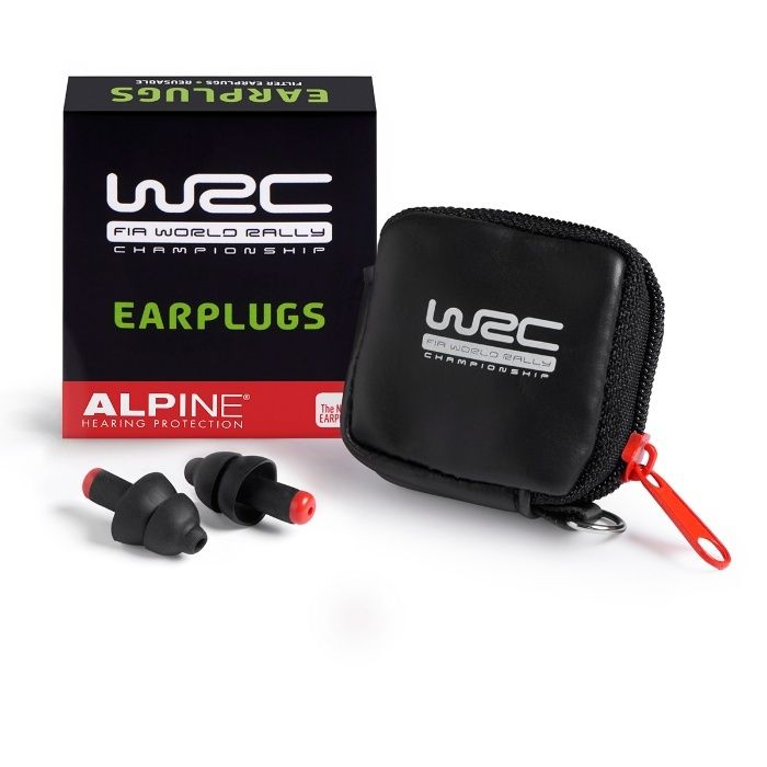 Тапи за уши с филтри Alpine WRC® за зрители на рали състезание
