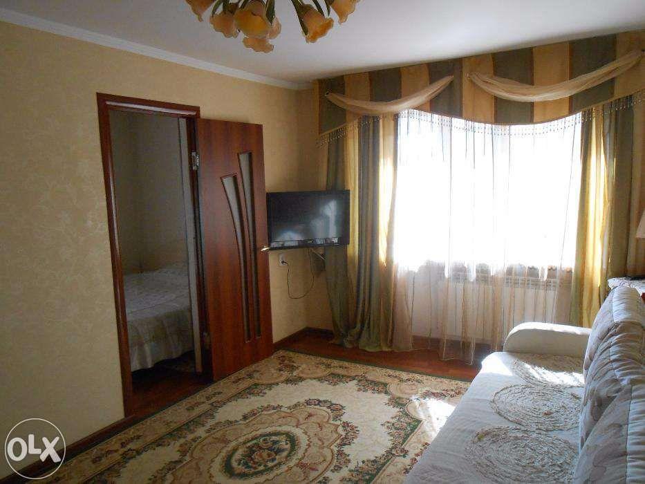 2-комнатная ЛЮКС квартира посуточно улица Толе би-Айтиева Wi-Fi