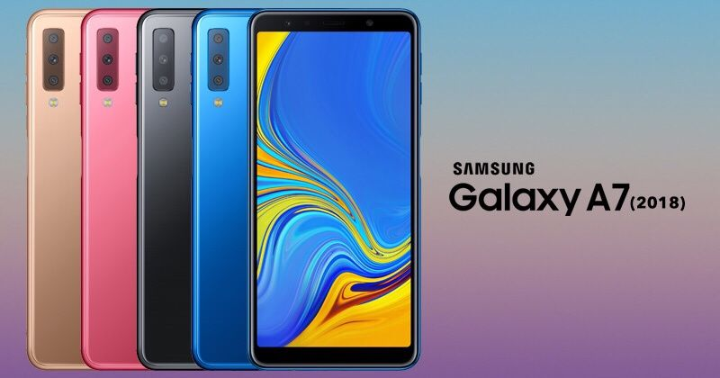 Samsung A7 128gb modelo 2018 na caixa selado