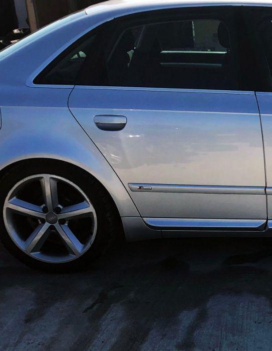 Portiera dreapta spate argintie LY7W S line Audi A4 B7 din 2006 Sedan