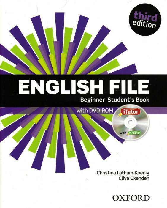 Livros de inglês - English file beginner student's & work book third e