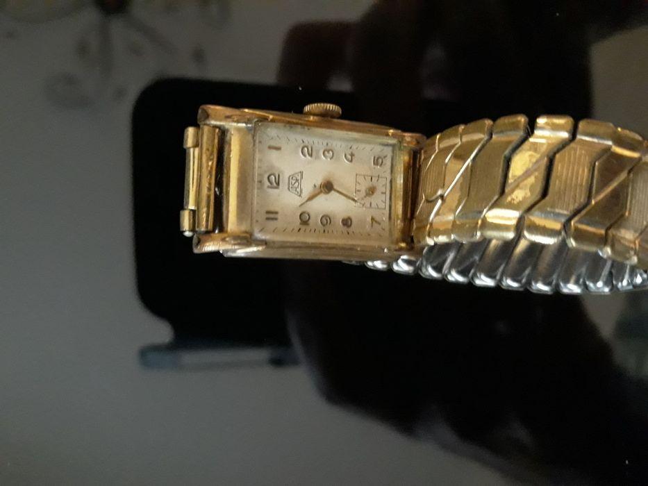 Ceas mecanic , damă ,vintage ASP placat cu aur