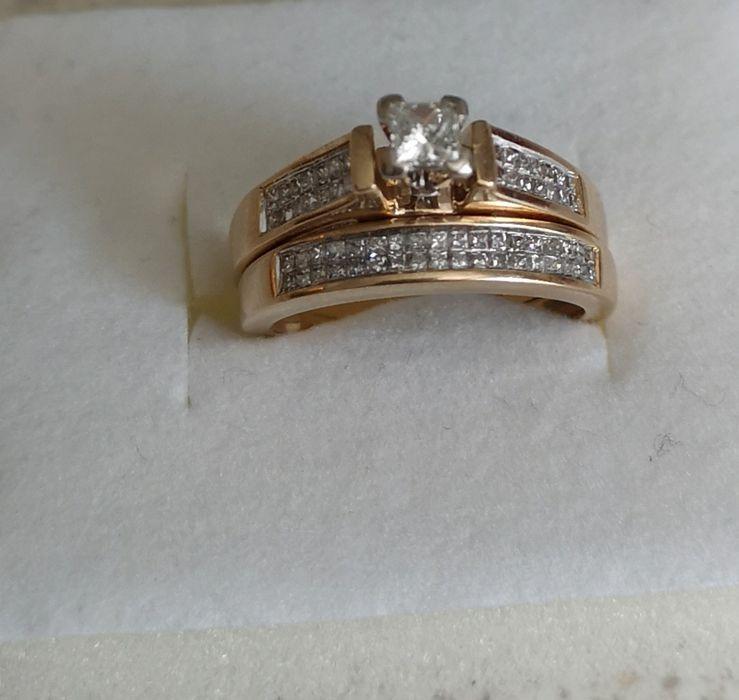 Inel aur diamante 1.1/2 ct