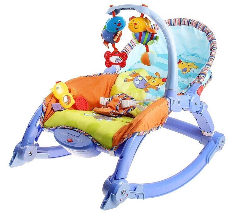 Продам стульчик для кормления, шезлонг и ходунок