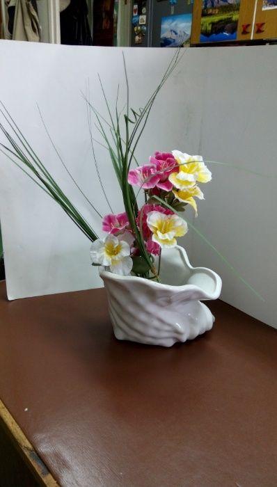 Ваза или декоративна купа с формата на раковина гр. София - image 5