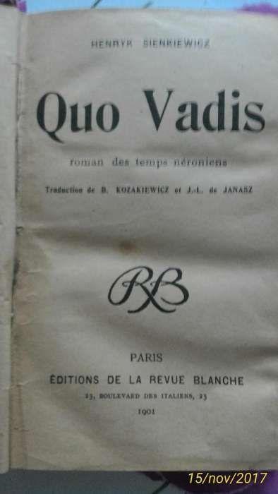 Quo Vadis (harta) 1901