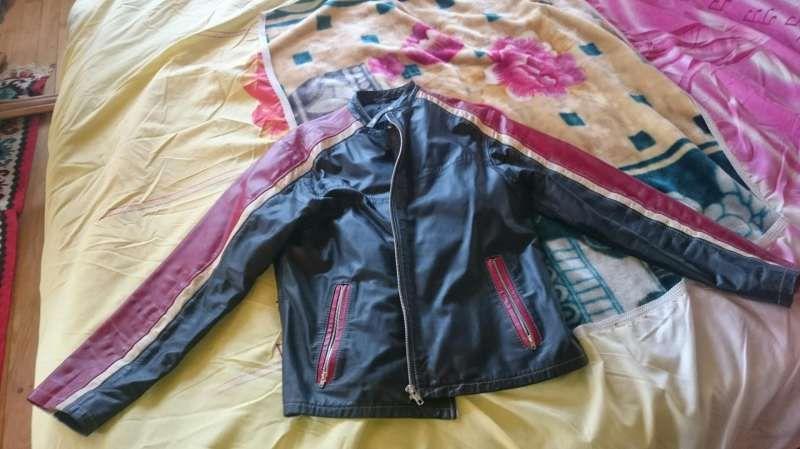 Продавам мъжко яке от естествена кожа