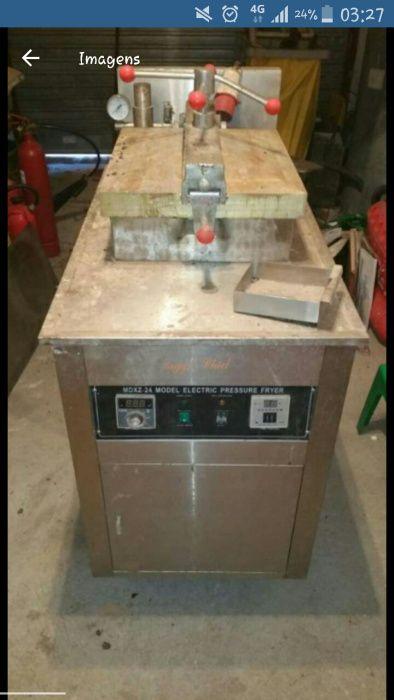 Maquina de Alta pressão para fritar Pedacos de frango,Tri-fase
