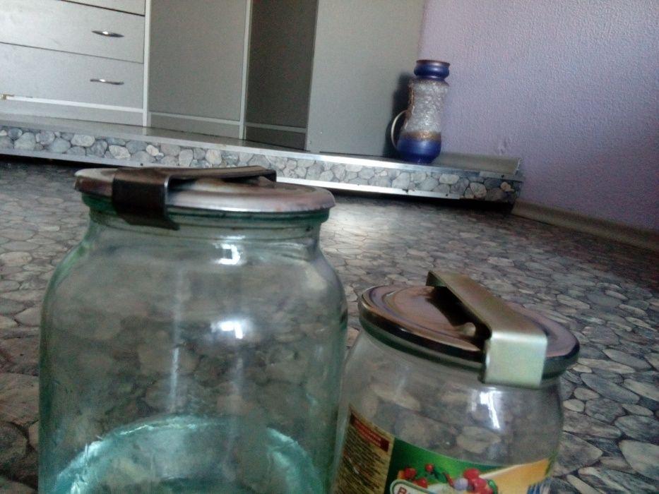 Крышки нержавейка на стеклянные банки сухопарник