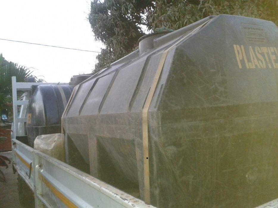 Água potável disponível em tanques cisterna