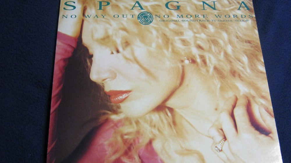 Disc vinil,Maxi,SPAGNA,1992.No Way Out/No Way Words,original