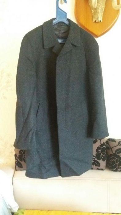 Шерстяное пальто размер 52-54