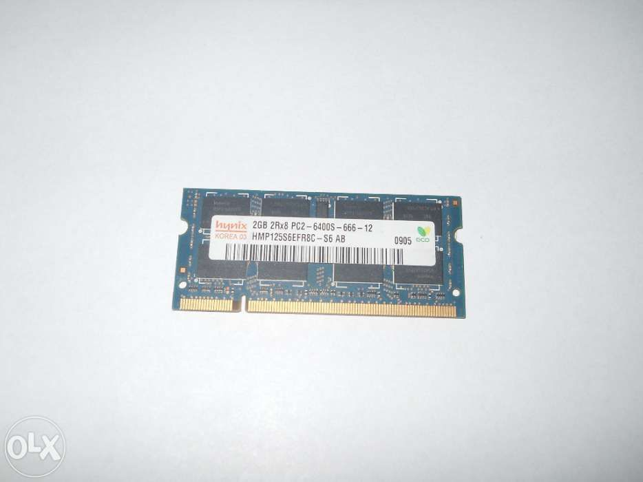 memorie 2GB hynix 2GB 2RX8 PC2-6400--666-12