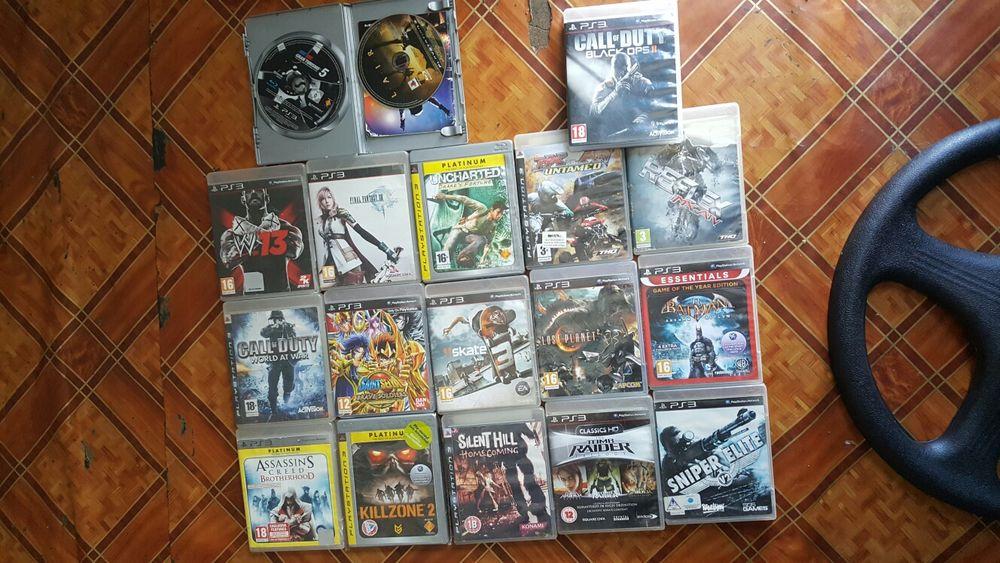 Vendo jogos de PS3 (Play Satation3) a bom preço. Cada jogo custa 800