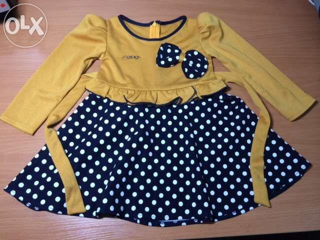 Платье для девочки на 2.5-3 года