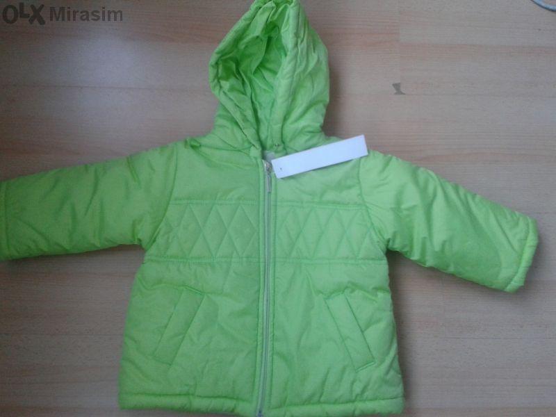 Ново! Детско зимно яке - зелено