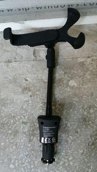 Suport cu incarcator Usb Smartphone-Healter 398503 12-24v 5v/1,5A
