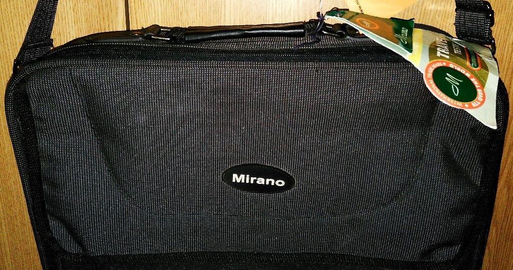 Geanta laptop MIRANO noua lata cu maner si bareta de umar de calitate