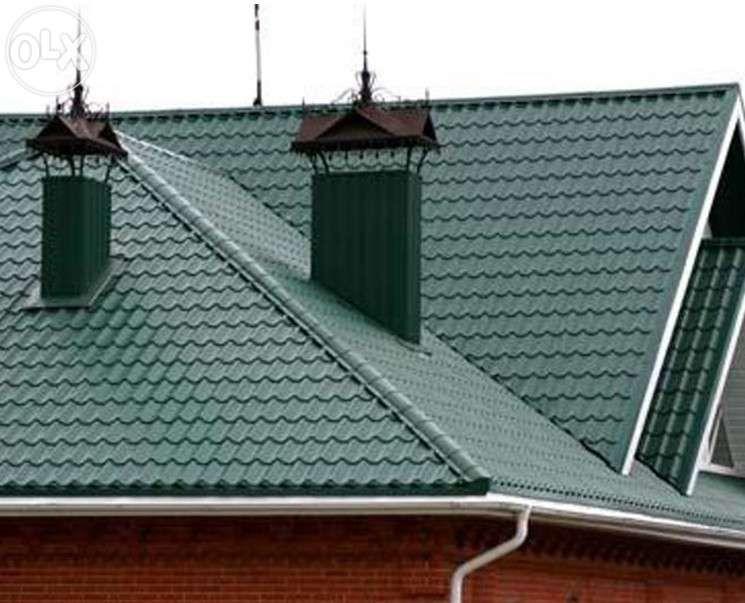 Жесткая кровля крыши в павлодаре.Не дорого! монтаж и ремонт крыши/