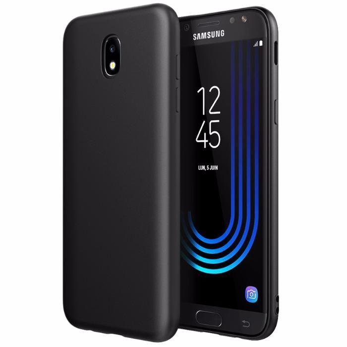 Samsung J3 J5 J7 2017 - Husa Neagra Din Silicon Ultra Slim