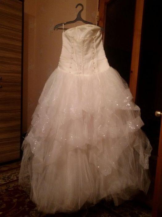 Свадебное платье. Размер 44-46