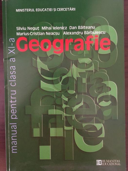 Manual de geografie pentru clasa a 11-a