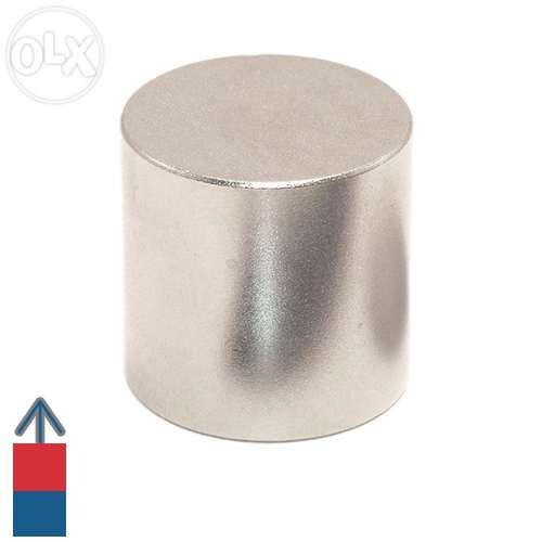 Magnet neodim cilindru / disc 20 x 20 mm