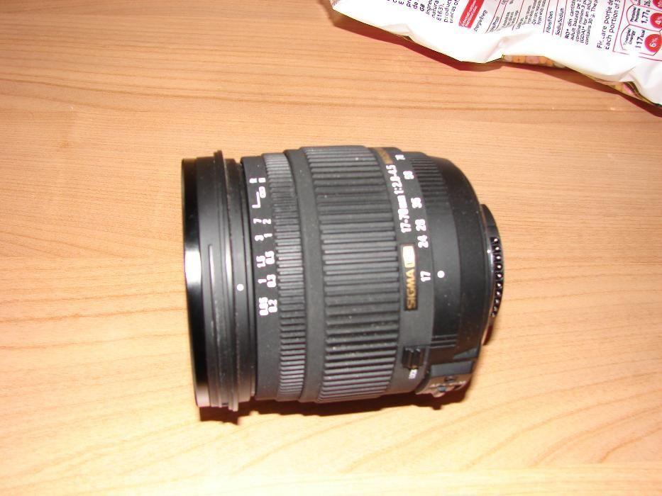 Obiectiv Sigma DC 17-70mm 2.8-4.5, montura Nikon, ireprosabil