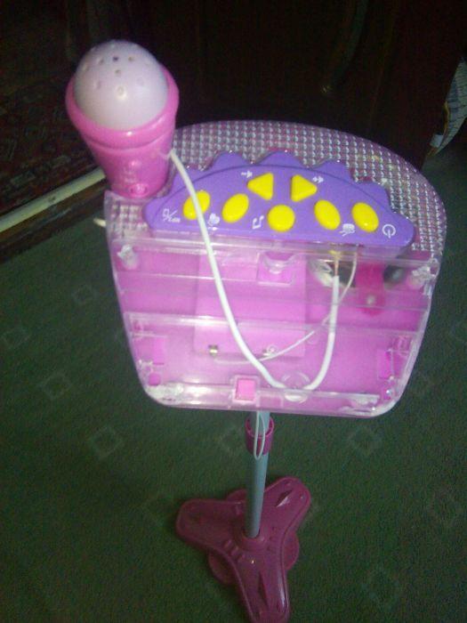Microfon cu bateri copii