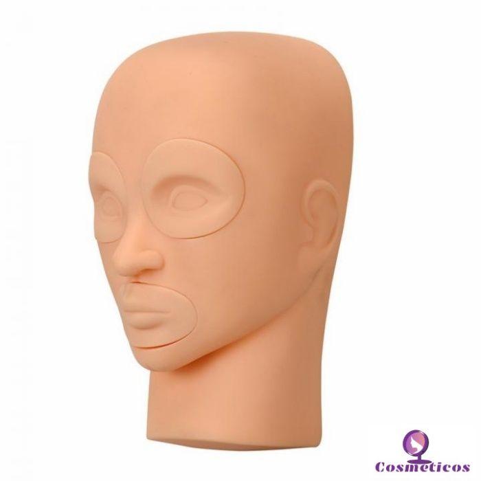 Cap practica 3D gene false/machiaj , ochi si buze detasabile