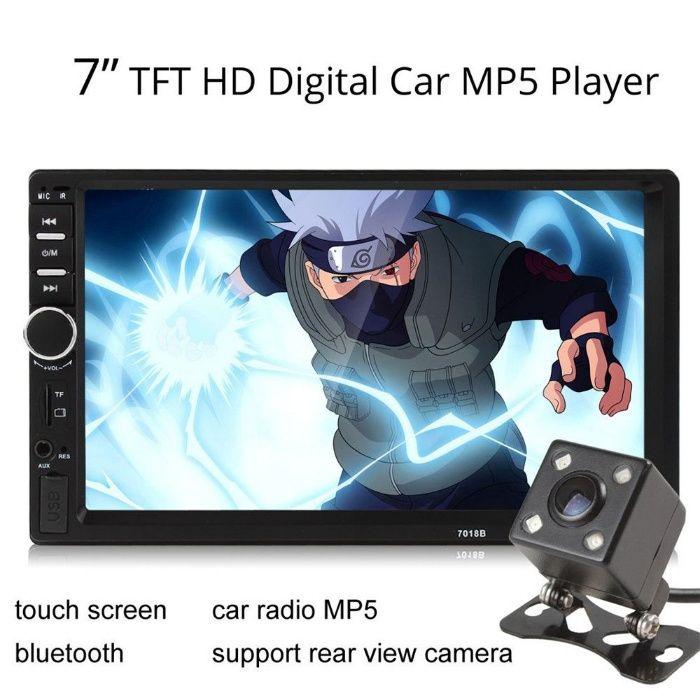 OFERTA ! 2 DIN player auto, dvd mp3/ mp5 player auto, mirrorLink. 7018