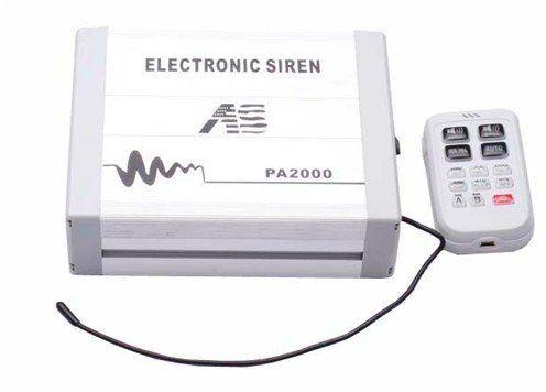 Amplificator profesional pentru sirena auto cu MP3 AL-250716-9