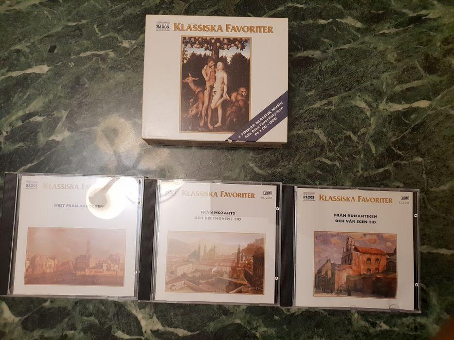 Cd audio original Klassiska Favoriter 1.2.3.