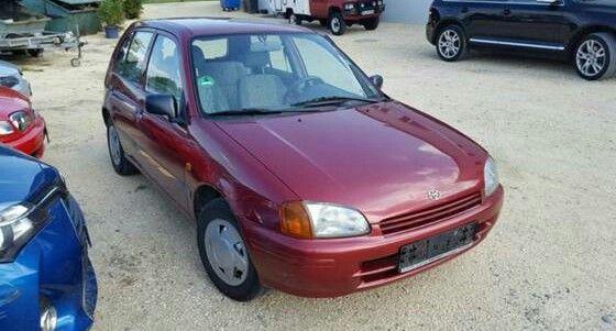 Toyota starlet sonangol