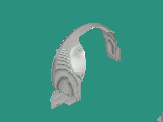 Передний подкрылок на Kia Cerato 14-