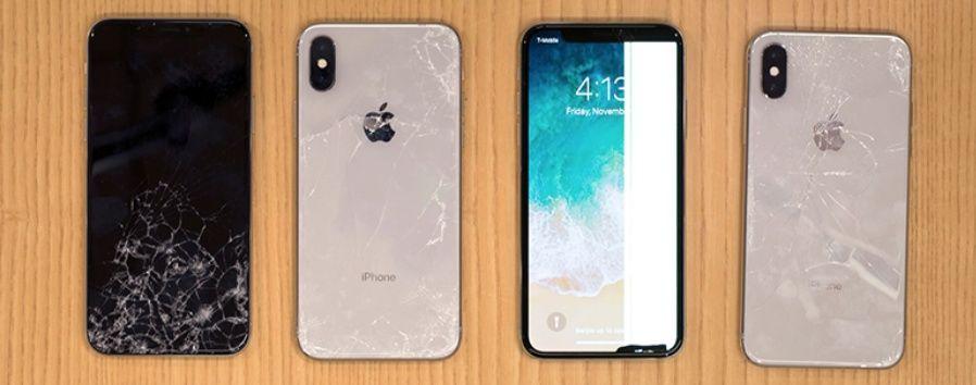 Смяна на стъкло iPhone X 4 5 6 7 8 Plus