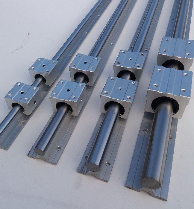 Axe CNC. Ghidaje Liniare cu Sprijin . SBR 12, SBR 16 , SBR 20