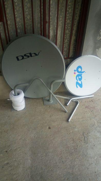 Kit Dstv HD completo com montagem e um mês grátis pacote grande por