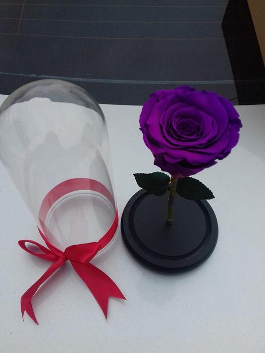 Cadou zile onomastice trandafir criogenat conservat Bucuresti - imagine 4