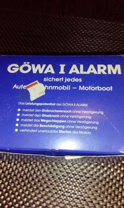 Alarma auto NOUA,EPOCA,Fabricata anii 80,vintage
