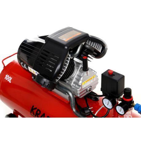 Compresor Aer 100 L cu 2 Pistoane 350 L-KD1480 - kraftprofesional.ro Radauti - imagine 4