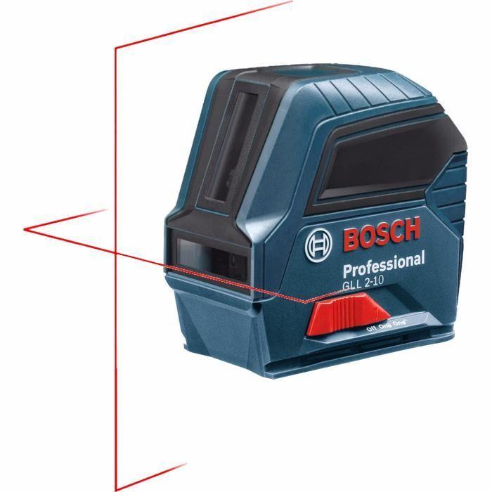 Лазерен нивелир Bosch GLL 2-10, 10 m, заключващ мех. безплатна доставк