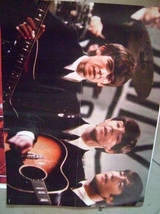 постер(плакат) Beatles