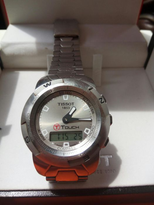 Vand tissot t touch. impecabil